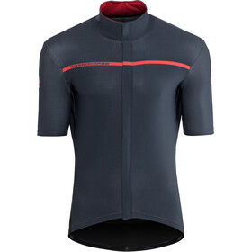 Castelli Gabba 3 Short Sleeve Jersey Men dark/infinity blue